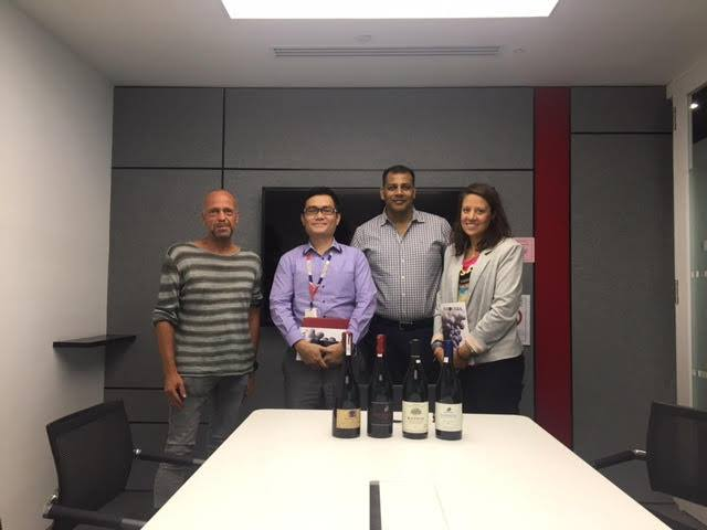 Tasting events and B2B meetings in Singapore